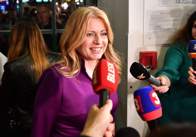 Une libérale emporte la présidence en Slovaquie.