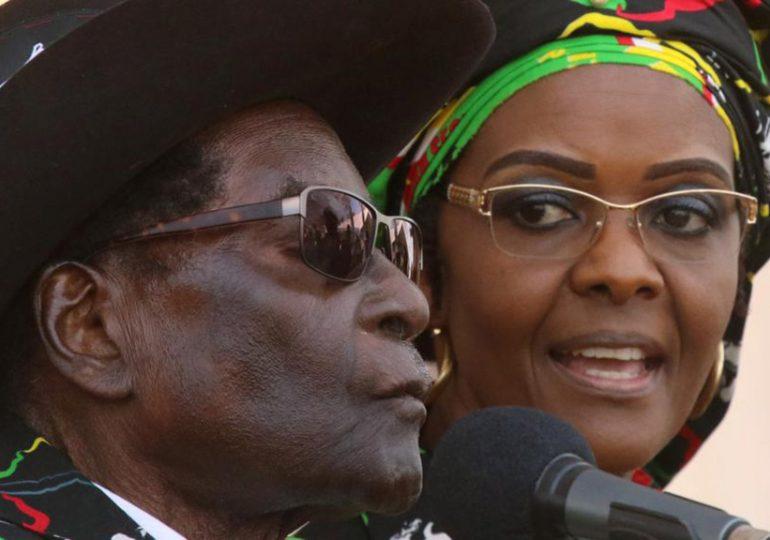 Mugabe en enfer - La mort n'excuse pas tout.