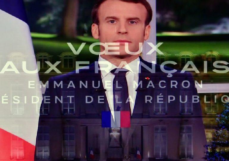 « À l'aube de cette nouvelle décennie, je veux vous assurer que je ne céderai rien au pessimisme ou à l'immobilisme» - Emmanuel Macron