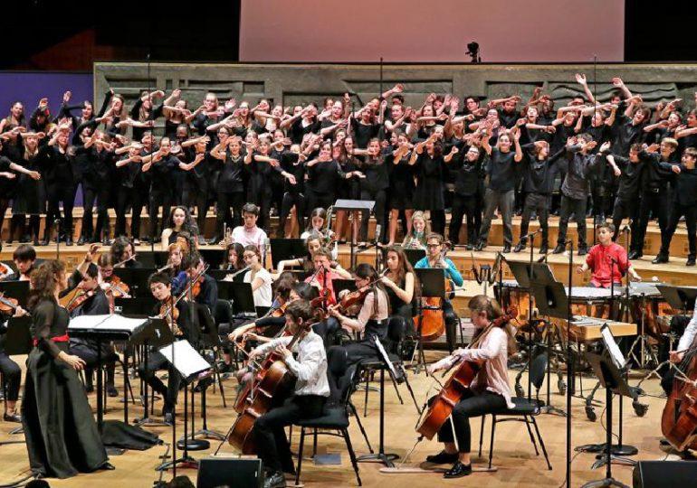 Concert de l'orchestre des lycées français du monde