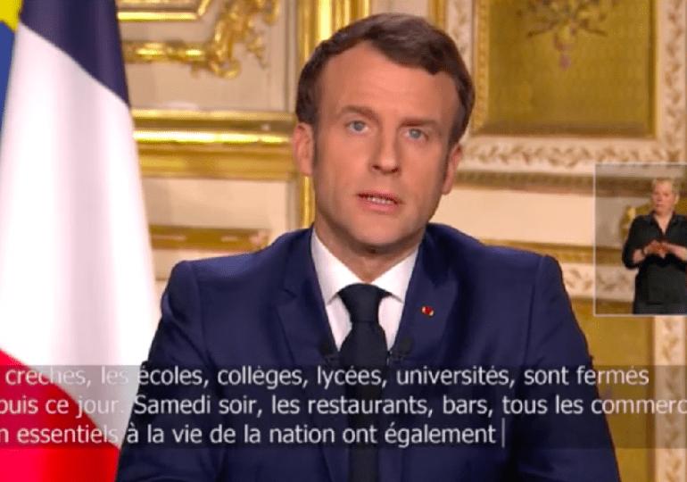 Allocution d'E. Macron : «Nous sommes en guerre» - Les Français de l'étranger ne sont pas oubliés