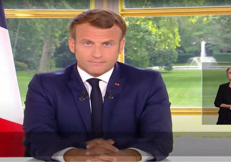 Education, Loisirs, Manifestations... Ce qu'il faut retenir de l'allocution d'Emmanuel Macron