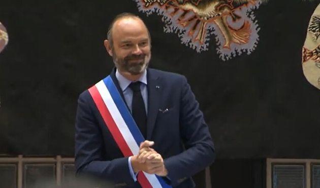 """Édouard Philippe: """"Le fait d'être maire, c'est avoir la chance d'exercer le plus beau des mandats que la République puisse offrir"""""""