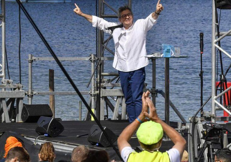 """""""Je prendrai ma décision au mois d'octobre."""" Très attendu sur la présidentielle de 2022, Jean-Luc Mélenchon a légèrement précisé son calendrier, lors du discours de clôture de l'université d'été de La France insoumise, ce dimanche dans la Drôme."""