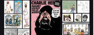 Caricatures publiées par Charlie Hebdo