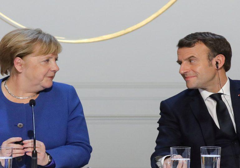 Réunion Macron-Merkel: relation transatlantique et industrie de défense au menu
