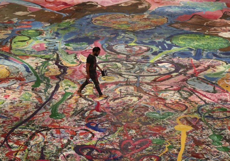 La plus grande toile au monde achetée par un expatrié à Dubaï