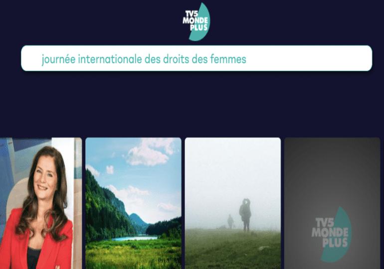 TV5MONDEPLUS : Mars au féminin !