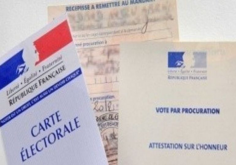 Voter en ligne ou à l'urne par procuration - Mode d'emploi