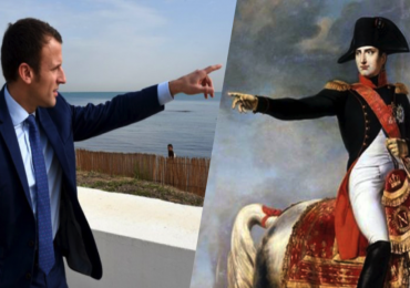 Macron et Napoléon